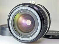 ''N.MINT'' Nikon Ai-S Nikkor 24mm f/2.8 Wide Angle MF Lens from Japan AIS JP SLR