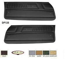 1970 - 71 CAMARO STD FRONT DOOR PANELS 1970 1971 70 71