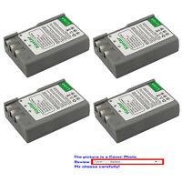 Kastar Replacement Battery Pack for Original Nikon EN-EL9a ENEL9 Nikon OEM MH-23