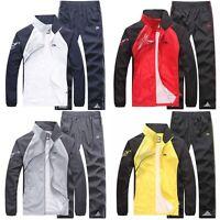 Casual Mens Jacket Spring&Autumn Activewear Jogging Suits Pants tracksuit Sport