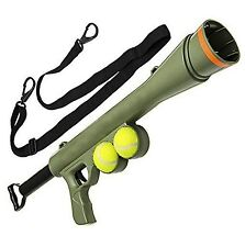 "Tennis Ball Launcher GUN ""Best DOG Toy Includes 2 Balls Sports Game Thrower"""