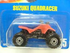 Hot Wheels Suzuki Quadracer Blue Card #165