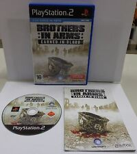 Gioco Game SONY Playstation 2 PS2 PAL ITALIANO BROTHERS IN ARMS EARNED IN BLOOD