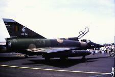 3/823 Dassault Mirage V Belgium Air Force BD-04  Kodachrome Slide