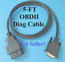 OBD2 OBDII Data Cable for FOXWELL Multi Application Scanner NT650  NT650 Elite