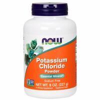 Potassium Chloride Powder 8 OZ  by Now Foods