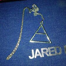 30 Seconds To Mars Triad Triangle Silver Bookmark Jared Leto  Echelon