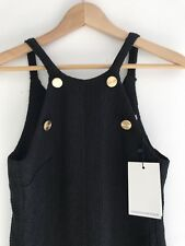 Christopher Esber Black Dress BNWT S6