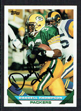 Darrell Thompson #561 signed autograph auto 1993 Toops Football Trading Card