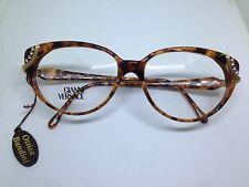 GIANNI VERSACE occhiali da vista vintage donna tartarugato V90 glasses lunettes