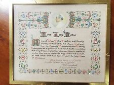 1953 Plenary Indulgence - Signed by Archbishop on behalf of Pope Pius XII