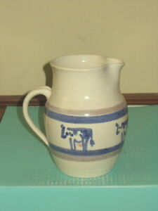 M A Hadley or Potting Shed Customized Tournament Pitcher with Cows
