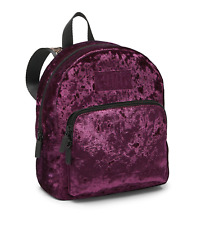 Victoria's Secret PINK Luxe Velvet MINI Backpack School Travel Bag Great Gift