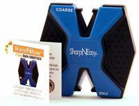 AccuSharp 334C Blue/Black Sharp-N-Easy 2-Step Knife Sharpener