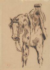Goetz van Berlichingen's Horse, 1842, EUGENE DELACROIX Horse Anatomy Poster