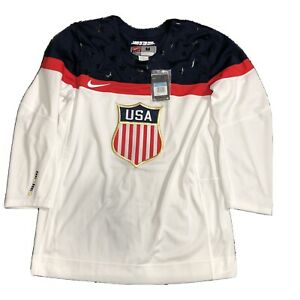 Men's Official Hockey Jersey United States Olympic Team Sochi Russia 2014 Size M