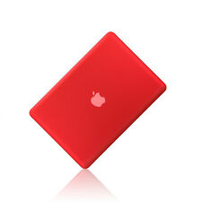 """NEW Rubberized RED Hard Case Cover for Apple Macbook PRO 13"""" 13.3 (A1278)"""