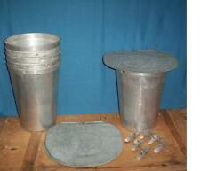 20 MAPLE SYRUP Aluminum Sap Buckets 20 Lids GRIMM COVER 20 TAPS Spiles Spouts
