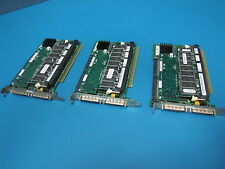 Lot of 3 Dell Perc3 LSI 493 U160 Dual Channel SCSI PCI RAID CARD