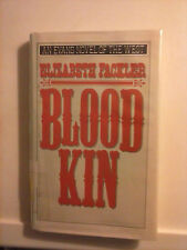 Blood Kin by Elizabeth Fackler 1991 Hardcover An Evans Novel of the West
