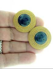 LALAOUNIS  18K  LAPIS  LAZULI  EARRINGS
