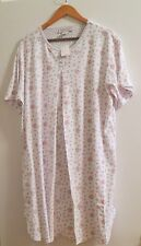 New 100% cotton nursing nightshirt night gown nightgown L