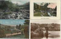 4 X RIVELIN VALLEY  Postcards ,  Sheffield    Yorkshire ( YB11 )