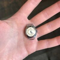 ZARYA Mini Watch Small Collectible Analog Vintage USSR TESTED Mechanical Soviet