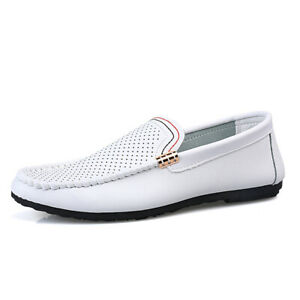 Casuals Shoes Men Lofer Trail Driving Flats Hollow Out Pump Pull On Breathable