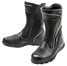 JOE ROCKET METEOR WATERPROOF TOURING MOTORCYCLE LEATHER BOOTS MENS SZ 10US /9 UK