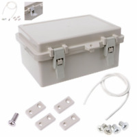 IP65 Electronic Waterproof Junction Box Enclosure Case Outdoor Terminal Cable
