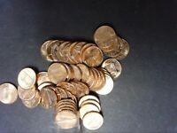 1968-S BU LINCOLN CENT ROLL MEMORIAL PENNIES  FREE SHIPPING IN USA