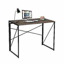 Writing Computer Desk Modern Simple Study Industrial Style Folding Laptop Table