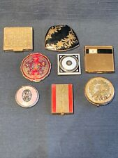 Vintage Compacts, Lot Of 8