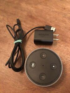 Amazon Echo Dot 2nd Generation Bluetooth Smart Home Speaker With Alexa - Black