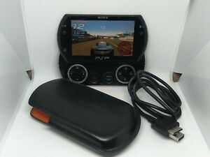 Sony psp go playstation portable black 16gb games in memory
