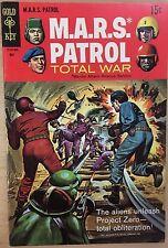 M.A.R.S. Patrol Total War #9 (1969) Gold Key Comics Fine