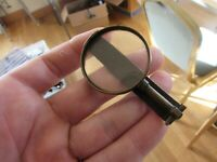 excellent vintage hardy alnwick fishing wardle magnifier glass