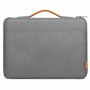 HP Dell Asus Acer Lenove Notebook Computer Polyester Protective Carrying Bag with Pocket Gray MacBook Pro 13 MoKo 13-13.3 Inch Laptop Sleeve Case Compatible with MacBook Air 13-inch Retina