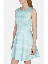 EXQUISITE Karen Millen LACE And SATIN Dress Uk 14