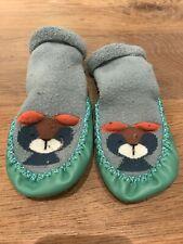 Toddler animal non-slip slipper socks, size 18-24 months EUC