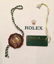 ROLEX HOLOGRAM RED TAG + ROLEX GREEN TAG Anno 2000 - 2015