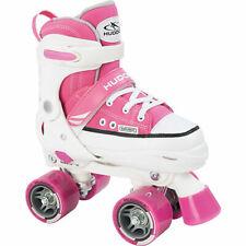 Hudora 7436490 - Rollschuhe Rollerskate, Gr. 32-35 pink