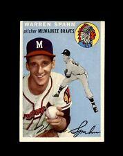 1954 TOPPS #20 WARREN SPAHN BRAVES NM-MT to NM-MT+