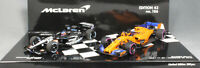 Minichamps Fernando Alonso Minardi PS01 & McLaren MCL33 2 Car Set 412180114 1/43