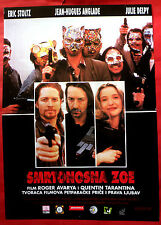 KILLING ZOE 1993 TARANTINO ERIC STOLTZ JULIE DELPY J.H.ANGLADE EXYU MOVIE POSTER