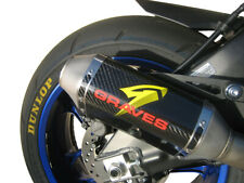 Cat Back Slip On Exhaust Carbon For 15-20 R1, 17-18 FZ10, 18-20 MT10