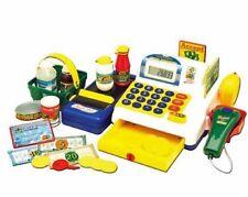 Kinder Registrierkasse Kaufladen mit Scanner Kasse Laufband + Zubehör