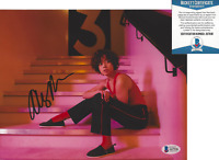 AUBREY PLAZA SIGNED 'THE TO DO LIST' 8x10 MOVIE PHOTO ACTRESS D BECKETT COA BAS