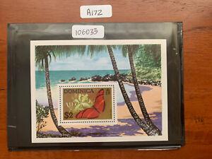 Dominica 1975 Butterflies M/S SG MS 466 MNH (A172)